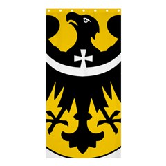Silesia Coat of Arms  Shower Curtain 36  x 72  (Stall)