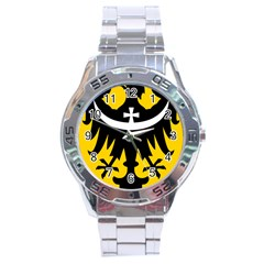 Silesia Coat of Arms  Stainless Steel Analogue Watch