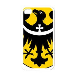 Silesia Coat of Arms  Apple iPhone 4 Case (White)