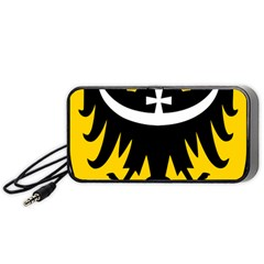 Silesia Coat of Arms  Portable Speaker (Black)