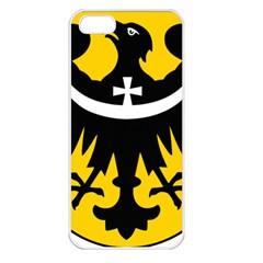 Silesia Coat of Arms  Apple iPhone 5 Seamless Case (White)
