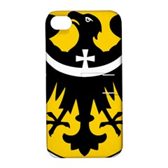 Silesia Coat of Arms  Apple iPhone 4/4S Hardshell Case with Stand