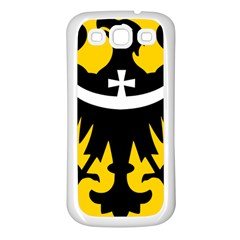Silesia Coat of Arms  Samsung Galaxy S3 Back Case (White)