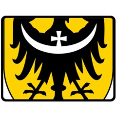 Silesia Coat of Arms  Double Sided Fleece Blanket (Large)