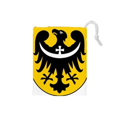Silesia Coat of Arms  Drawstring Pouches (Small)