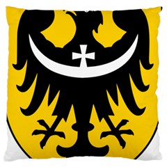 Silesia Coat of Arms  Large Flano Cushion Case (Two Sides)