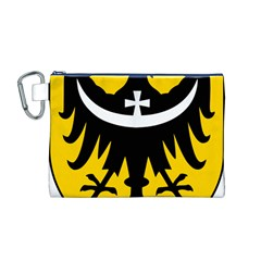 Silesia Coat of Arms  Canvas Cosmetic Bag (M)