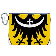 Silesia Coat of Arms  Canvas Cosmetic Bag (XL)