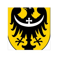 Silesia Coat of Arms  Small Satin Scarf (Square)