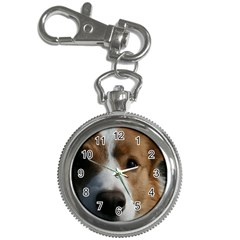 Red Border Collie Key Chain Watches