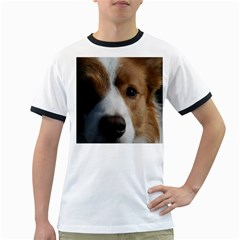 Red Border Collie Ringer T-Shirts