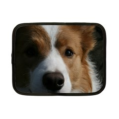Red Border Collie Netbook Case (Small)