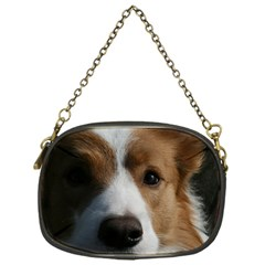 Red Border Collie Chain Purses (One Side)