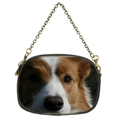 Red Border Collie Chain Purses (Two Sides)