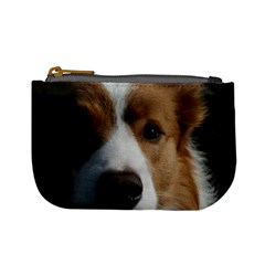 Red Border Collie Mini Coin Purses