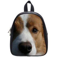 Red Border Collie School Bags (Small)