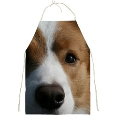 Red Border Collie Full Print Aprons