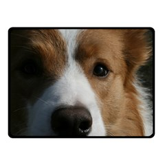 Red Border Collie Fleece Blanket (Small)