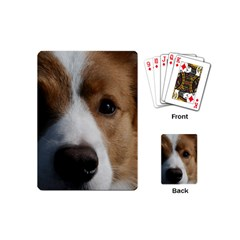 Red Border Collie Playing Cards (Mini)
