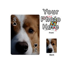 Red Border Collie Playing Cards 54 (Mini)