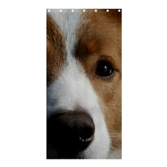Red Border Collie Shower Curtain 36  x 72  (Stall)