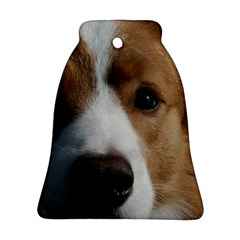Red Border Collie Bell Ornament (Two Sides)
