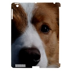 Red Border Collie Apple iPad 3/4 Hardshell Case (Compatible with Smart Cover)