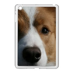 Red Border Collie Apple iPad Mini Case (White)