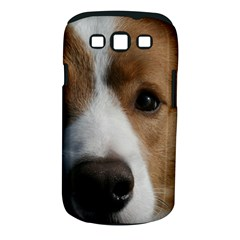 Red Border Collie Samsung Galaxy S III Classic Hardshell Case (PC+Silicone)