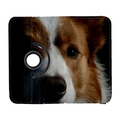 Red Border Collie Galaxy S3 (Flip/Folio)