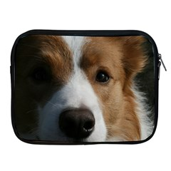 Red Border Collie Apple iPad 2/3/4 Zipper Cases