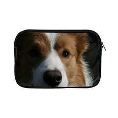 Red Border Collie Apple iPad Mini Zipper Cases