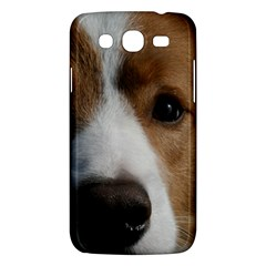 Red Border Collie Samsung Galaxy Mega 5.8 I9152 Hardshell Case