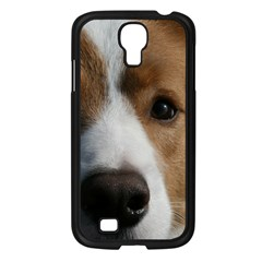 Red Border Collie Samsung Galaxy S4 I9500/ I9505 Case (Black)