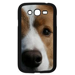 Red Border Collie Samsung Galaxy Grand DUOS I9082 Case (Black)