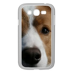 Red Border Collie Samsung Galaxy Grand DUOS I9082 Case (White)