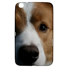 Red Border Collie Samsung Galaxy Tab 3 (8 ) T3100 Hardshell Case