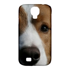 Red Border Collie Samsung Galaxy S4 Classic Hardshell Case (PC+Silicone)