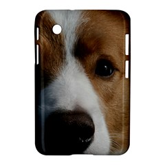 Red Border Collie Samsung Galaxy Tab 2 (7 ) P3100 Hardshell Case