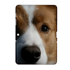 Red Border Collie Samsung Galaxy Tab 2 (10.1 ) P5100 Hardshell Case