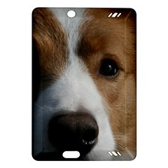 Red Border Collie Amazon Kindle Fire HD (2013) Hardshell Case