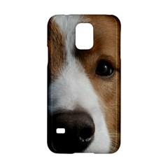 Red Border Collie Samsung Galaxy S5 Hardshell Case