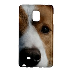 Red Border Collie Galaxy Note Edge