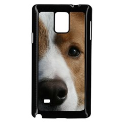 Red Border Collie Samsung Galaxy Note 4 Case (Black)
