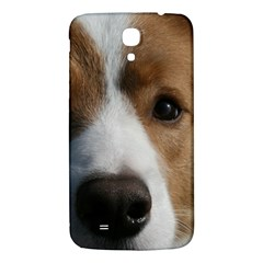 Red Border Collie Samsung Galaxy Mega I9200 Hardshell Back Case