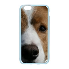 Red Border Collie Apple Seamless iPhone 6/6S Case (Color)