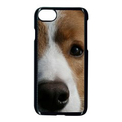 Red Border Collie Apple iPhone 7 Seamless Case (Black)