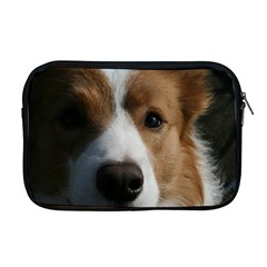 Red Border Collie Apple MacBook Pro 17  Zipper Case