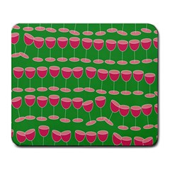Wine Red Champagne Glass Red Wine Large Mousepads