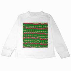 Wine Red Champagne Glass Red Wine Kids Long Sleeve T-Shirts
